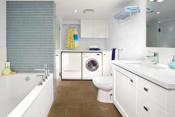 vị trí đặt máy giặt nhà diện tích nhỏ